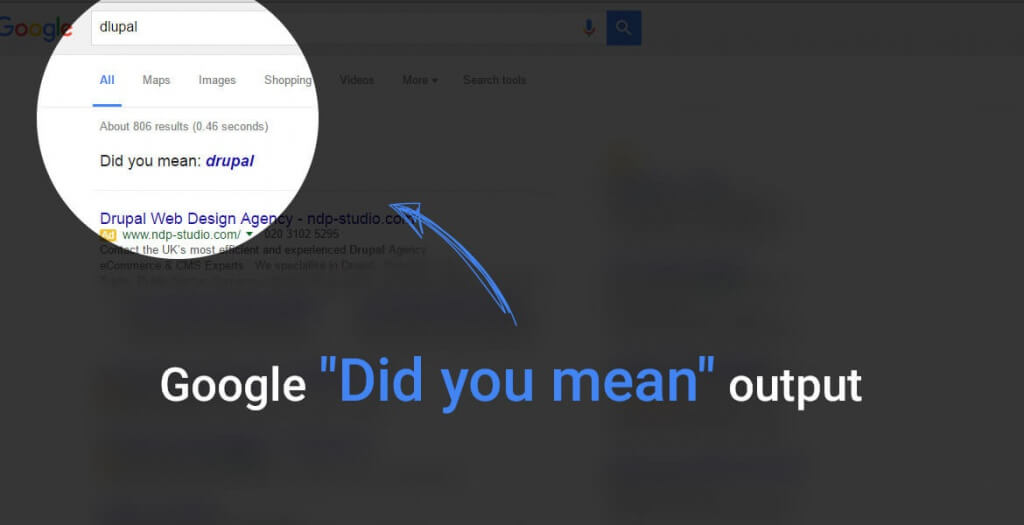 How Does Google's 'did you mean' algorithm work?