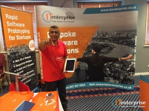 Raj Mistry Exhibition West Ham Business Growth Show