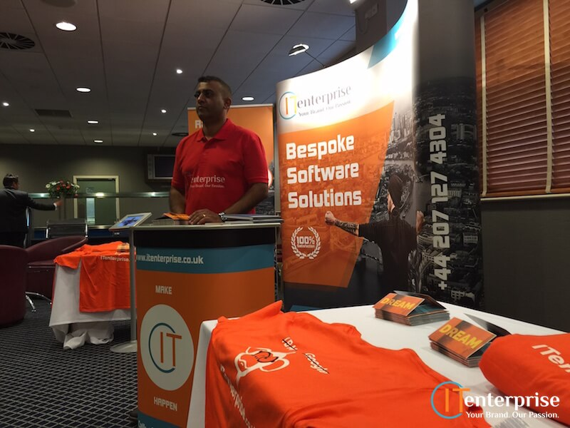 IT Enterprise went to the Business Growth Show in West Ham
