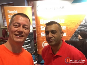 Business Growth Show 2016 Thomas De Vos and Raj Mistry