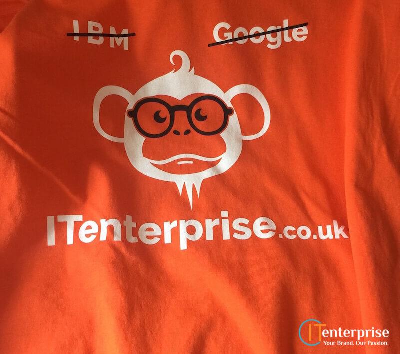 IT Enterprise t-shirt IBM Google