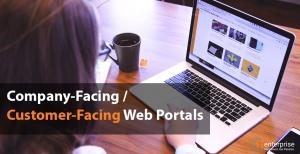 Company-Facing  Customer-Facing Web Portals