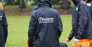 Camberley Rebels FC - IT Enterprise Sponsor Rain Jacket