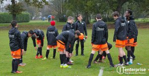 Camberley Rebels U14 Warmup