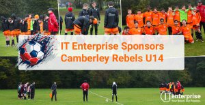 IT Enterprise Sponsors Camberley Rebels U14