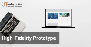Software development high fidelity prototype