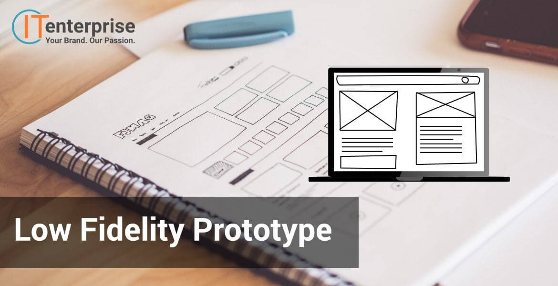 Software development low fidelity prototype