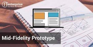 mid-fidelity prototype in software development