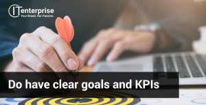 Keep clear goals when prototyping software