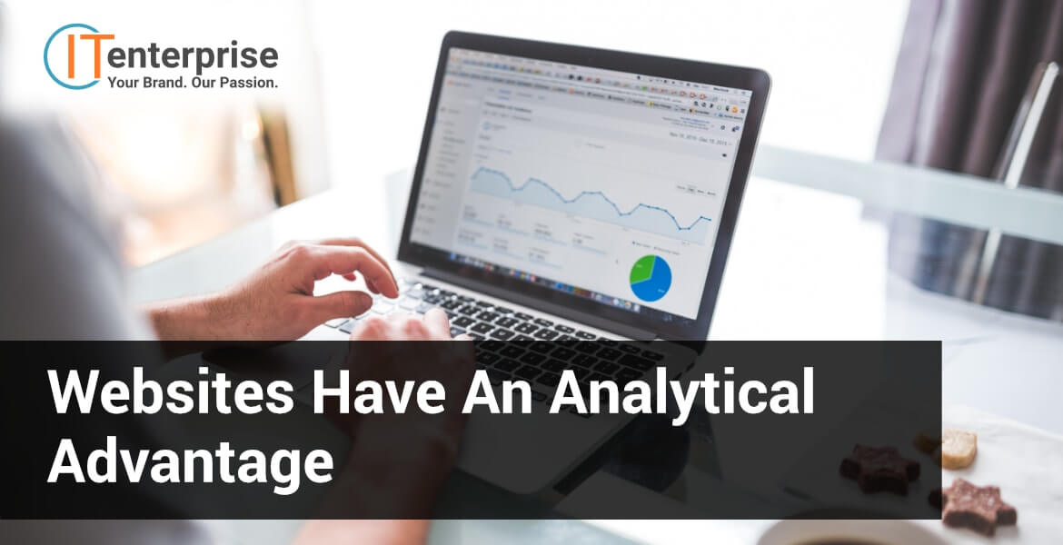 Websites have an analytical advantage