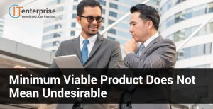 Minimum Viable Product Does Not Mean Undesirable-min