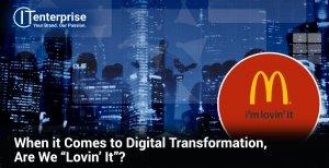 McDonalds example of digital transformation