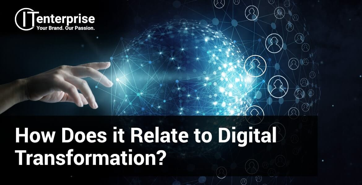 Hw does digital strategy relate to digital transformation