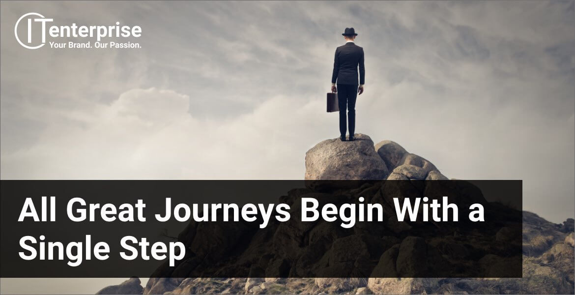 Title Image: All Great Journeys Begin With a Single Step