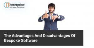 The advantages and disadvantages of bespoke software