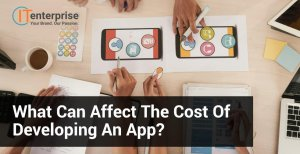 What can affect the cost of developing an app-min